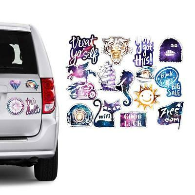 100Pcs Sticker Funny Starry Harajuku Style phone Luggage Decals Dope Car Sticker