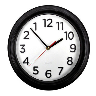 "Arnotts Backwards Clock 10"" Reverse Counter Clockwise Clock Decoration Trick"