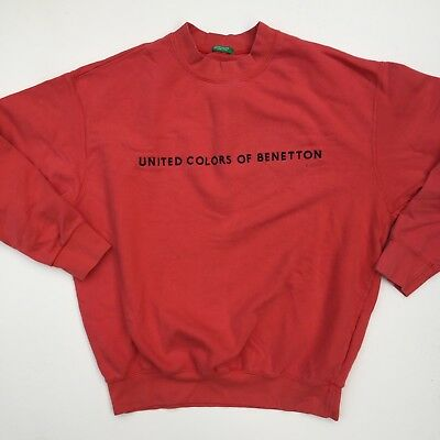 Vintage United Colors of Benetton Sweatshirt Medium Made in India