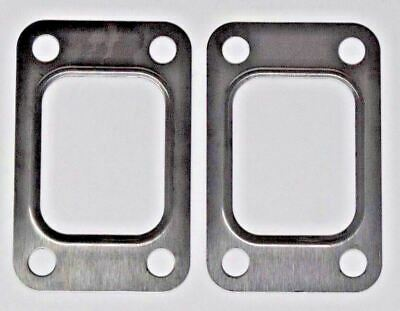 2 Pack T2 T25 T28 GT25 GT28 Turbo Exhaust Inlet Manifold Gasket For T2 Flange US