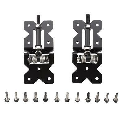 One Pair Carbon Steel Heavy Duty Hinges , Self Closing Pool Fence Glass Gate