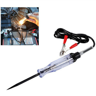 6V/12V DC Car Voltage Circuit Tester Systems Long Probe Continuity Testing Light