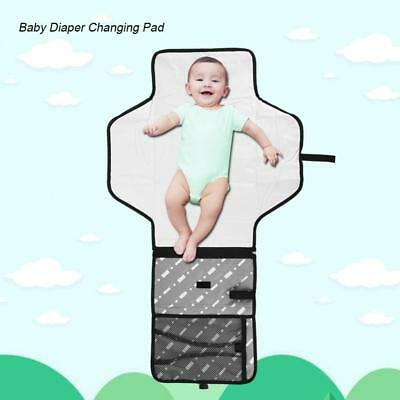 Portable Travel Diaper Waterproof Changing Diaper Bag Pad Mat Padded for Baby