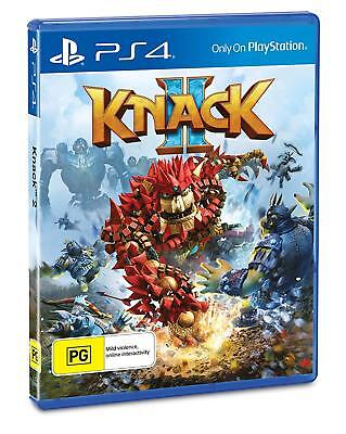 Knack 2 Playstation 4 (PS4) Game Brand New In Stock FAST FREE POSTAGE