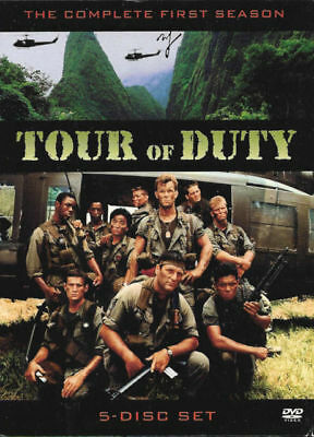 Tour Of Duty Season 1 One DVD 5-Disc Set New Sealed Australia All Regions