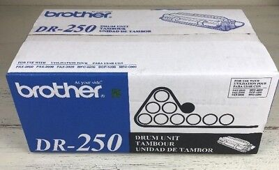 Genuine Brother DR-250 Black Laser Toner Cartridge - FAX-2800 MFC-4800 DCP-1000