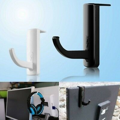Portable Headphones Stand Hanger Gaming Headset Holder Wall PC Monitor Stand DJ8