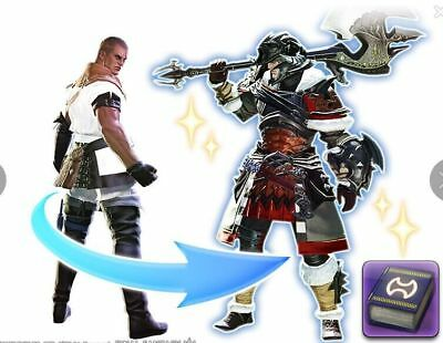FINAL FANTASY XIV FFXIV Level Boost Tales of Adventure One Warrior's Journey I