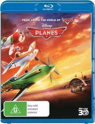 Disney Planes 1-Disc 3D Bluray Region Free ABC New