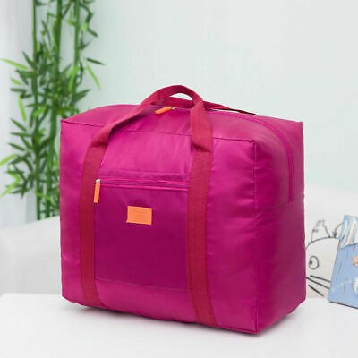 Packable Luggage Travel Foldable Storage Carry On Hand Shoulder Duffle Nylon Bag