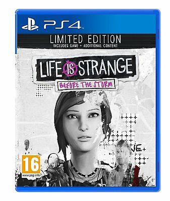 Life is Strange: Before the Storm - Limited Edition | PS4 NEU & OVP Blitzversand