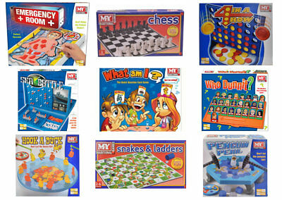 Traditional Classic Modern Full Size Family Children Kids Christmas Board Games