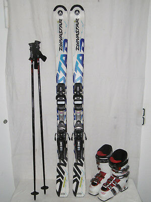 42 IM SET ELAN  E-FLEX 4  TOP SKI  ALLROUND CARVER 160 CM SKISCHUHE GR