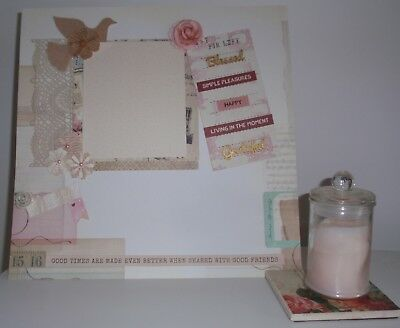 Handmade Scrapbook page - Good times with Good Friends