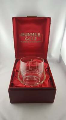 The Dunhill Golf Trophy Open Amateur Championship 1981 - mint in original box