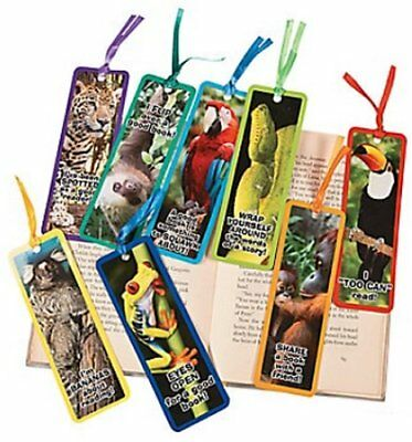 Book Reading School Party Bag Fillers Pack Size 6-48 Halloween Bookmarks