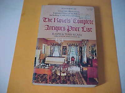 BOOK OF THE KOVELS' COMPLETE ANTIQUES PRICE LIST,8th EDITION