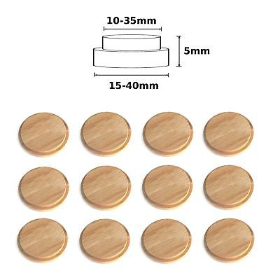 Wooden Round Cover Cap Oak All Sizes Available