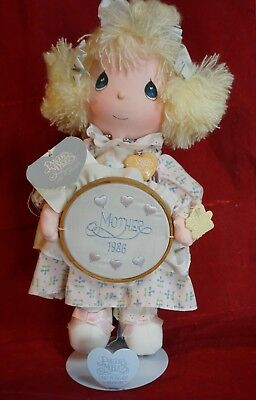 PRECIOUS MOMENTS 1986 MOTHER'S DAY DOLL Katie #5605 Applause Plush