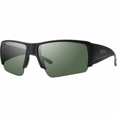 15ee4436956 NEW Smith Captain s Choice Sunglasses Black ChromaPop Polarized Gray Green   179