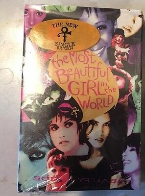 New Prince Cassette tape Single, The Most Beautiful Girl In The World.