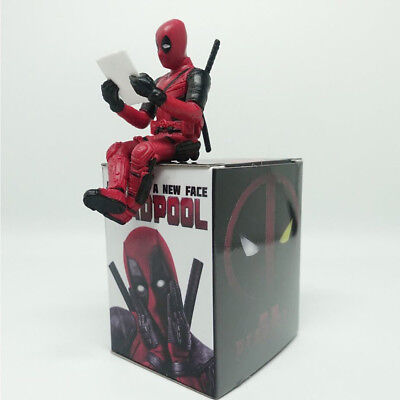 Marvel Superheld Figur X-Men Deadpool PVC Mini Figuren Spielzeug Sammlung Toys