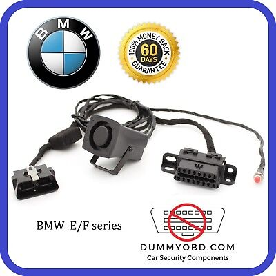 BMW X1/3/4/5 1/2/3/4/5/6/7series i3 i8 DUMMY OBD ALARM SIREN Anti Theft Security