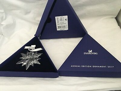 SWAROVSKI NEW 2017 Annual Edition Large Christmas Ornament Crystal 5257589 NIB