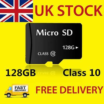 128GB Micro SD Card Class 10 TF Flash Memory SDHC SDXC with Adapter UK STOCK