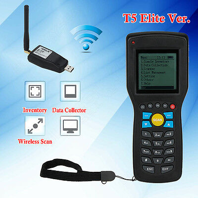 T5 Elite Vision Wireless 1D Barcode Scanner Data Collector Inventory Management