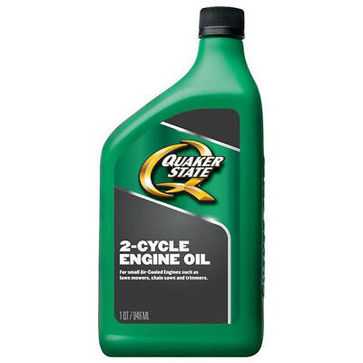 Quaker State Universal 2-Cycle Air Cooled Engines [1-qt. Bottle] 12438