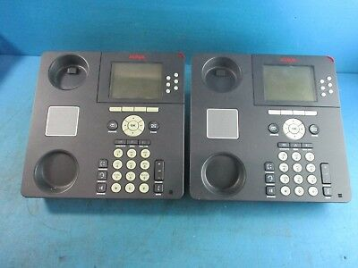d419b9cd226bff Lot of 2 - Avaya 9630 VOIP Phone IP Business Telephone With Stand - No  Handset