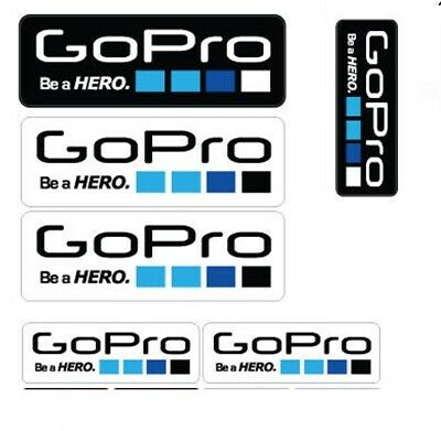 11 Pcs Icon Logo Stickers Decal Set for GoPro Hero 4 3+ 3 2 1 Sports Camera