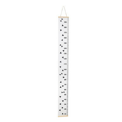 Wooden Wall Hanging Baby Child Kids Growth Chart Height Measure Ruler Wall G2K3