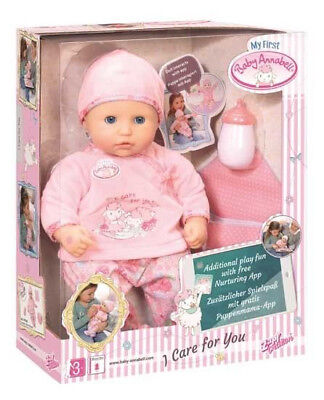 My First Baby Annabell - I Care For You Doll – Zapf Creation