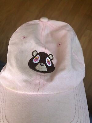 fb44c2f833a58 Fashion Kanye West Ye Dropout Bear Dad Hat Embroidered Drake Baseball Caps
