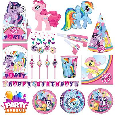 My Little Pony Party Tableware Decorations Balloons Favours