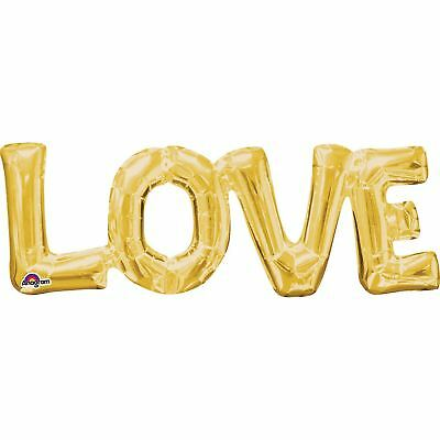 """/""""YAY/"""" GOLD SCRIPT FOIL PARTY PHASE BALLOON WEDDING ENGAGEMENT DECOR"""