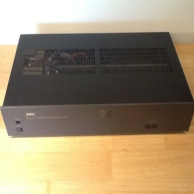 NAD 2140 POWER Amplifier - It checks out in good Condition