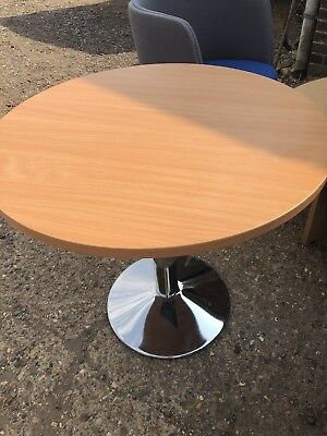 Beech round meeting office Table Furniture