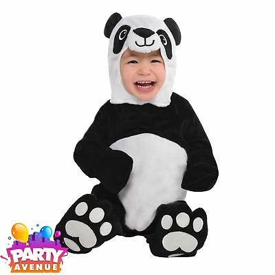 Baby Precious Panda Costume 0-6mths Zoo Animal Toddler Babies Costume Outfit