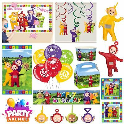 Teletubbies Party Accessories Favours Decorations Tableware