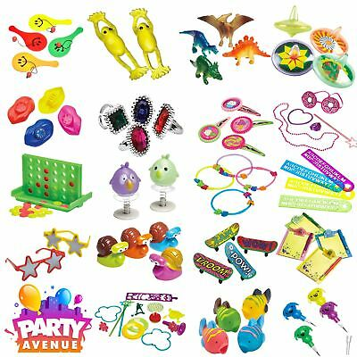 Party Favours Loot Bags Fillers Toys Birthday Kids Pinata Childrens 4/6/12 Packs