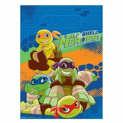 Teenage Mutant Ninja Turtles Themed 15X Personalised Pizza Party Bag Filler Loot Party Bag Supplies