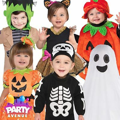 Toddler & Baby Halloween Fancy Dress Costumes Trick or Treat Kids Childrens Cute