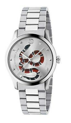 28ca1e03f9e GUCCI G-TIMELESS 38MM Stainless Steel Dial Unisex Watch YA1264076 ...