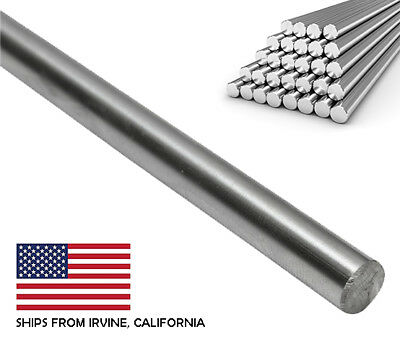 8mm x 330mm Case Hardened Chrome Linear Motion Rods/Shafts/Guides G6 Tolerance