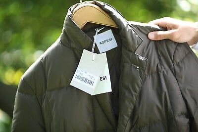 huge selection of 9da81 6b6e8 ASPESI DOWN JACKET Size Small Olive Color NWT $695