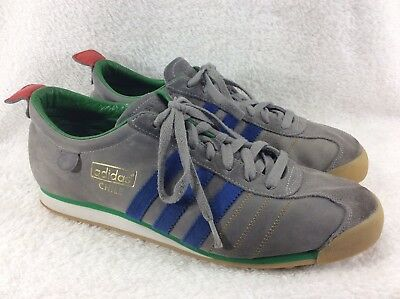 849c69a19dd0 ... RARE Vintage Adidas Chile Italia 82 Mens Size US 11.5 Gray Suede  Leather wholesale outlet 944f8 ...