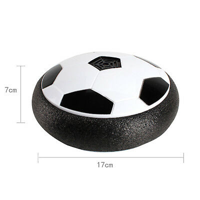 Air Power Soccer Disk Hover Ball IndoorOutdoor Football Kid Toy 19.5*19.5*7cm DJ